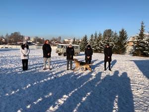 Студенты 1 курса посетили Кировскую кинологическую службу УМВД России по Кировской области.
